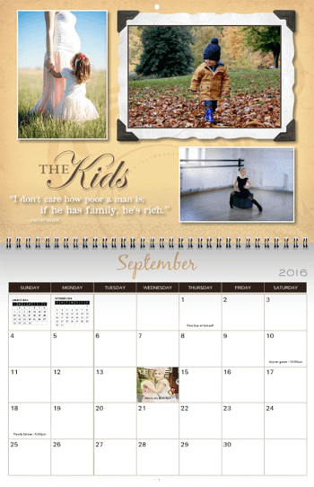 calendars photo